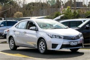 2014 Toyota Corolla ZRE172R Ascent S-CVT Silver 7 Speed Constant Variable Sedan Ringwood East Maroondah Area Preview