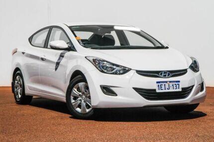 2013 Hyundai Elantra MD2 Active White 6 Speed Sports Automatic Sedan Rockingham Rockingham Area Preview