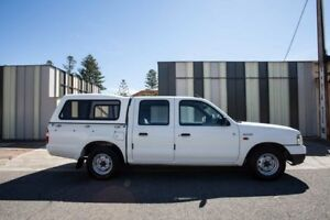 2003 Ford Courier PG GL Crew Cab White 5 Speed Manual Utility