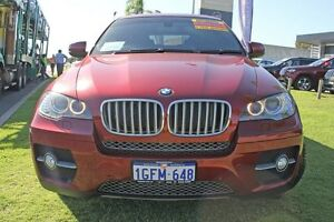 2010 BMW X6 E71 MY11 xDrive40d Coupe Steptronic Red 8 Speed Sports Automatic Wagon Pearsall Wanneroo Area Preview