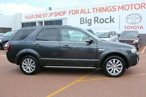 2009 Ford Territory SY Mkii Ghia RWD Grey 4 Speed Sports Automatic Wagon Westminster Stirling Area Preview