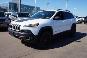 2015 Jeep Cherokee 4X4 TRAILHAWK Accident Free,  Navigation (GPS