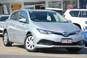 2016 Toyota Corolla ZRE182R Ascent S-CVT Silver Pearl 7 Speed Constant Variable Hatchback Woolloongabba Brisbane South West Preview
