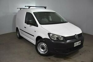 2013 Volkswagen Caddy 2KN MY13 TSI160 SWB Runner SE White 5 Speed Manual Van Mount Gambier Grant Area Preview