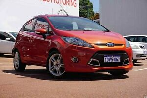 2012 Ford Fiesta WT Zetec Or/ 5 Speed Manual Hatchback Westminster Stirling Area Preview