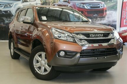 2016 Isuzu MU-X MY16.5 LS-T Rev-Tronic 4x2 Outback Bronze 6 Speed Sports Automatic Wagon