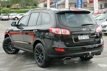 2010 Hyundai Santa Fe CM MY10 Highlander Black 6 Speed Sports Automatic Wagon Pennant Hills Hornsby Area Preview