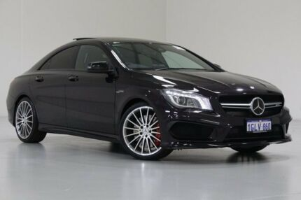 2015 Mercedes-Benz CLA 117 MY15 45 AMG Northern Lights Violet 7 Speed Automatic Coupe