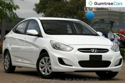 2014 Hyundai Accent RB2 MY15 Active Red 4 Speed Sports Automatic Sedan Lansvale Liverpool Area Preview