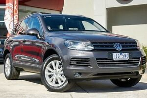 2011 Volkswagen Touareg 7P MY11 V6 TDI Tiptronic 4MOTION Grey 8 Speed Sports Automatic Wagon Wendouree Ballarat City Preview