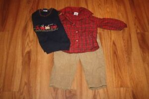 Boys Christmas Outfits, Suits and Pjs  Age ranges 18mths -4years