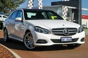 2014 Mercedes-Benz E250 W212 MY14 7G-Tronic + White 7 Speed Sports Automatic Sedan East Rockingham Rockingham Area Preview