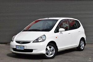 2007 Honda Jazz GD GLi White 5 Speed Manual Hatchback Cooee Burnie Area Preview