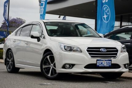 2017 Subaru Liberty B6 MY17 3.6R CVT AWD Crystal White 6 Speed Constant Variable Sedan Willagee Melville Area Preview
