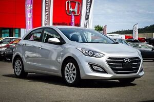 2015 Hyundai i30 GD4 Series II MY16 Active Silver 6 Speed Sports Automatic Hatchback Garbutt Townsville City Preview