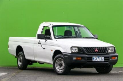 2004 Mitsubishi Triton MK MY05 GL 5 Speed Manual Cab Chassis Ringwood East Maroondah Area Preview