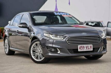 2015 Ford Falcon FG X G6E Grey 6 Speed Sports Automatic Sedan Rothwell Redcliffe Area Preview
