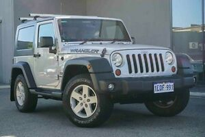 2009 Jeep Wrangler JK MY2009 Sport Silver 6 Speed Manual Softtop Osborne Park Stirling Area Preview