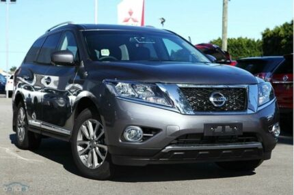 2015 Nissan Pathfinder R52 MY15 ST-L X-tronic 4WD Gun Metallic 1 Speed Constant Variable Wagon Cannington Canning Area Preview