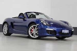 2012 Porsche Boxster 987 MY12 S Blue 6 Speed Manual Roadster Bentley Canning Area Preview