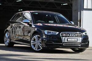 2014 Audi S3 8V MY14 Sportback 2.0 TFSI Quattro Black 6 Speed Direct Shift Hatchback Mosman Mosman Area Preview
