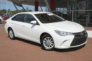 2015 Toyota Camry ASV50R Altise Diamond White 6 Speed Sports Automatic Sedan Myaree Melville Area Preview