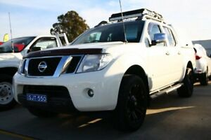 2011 Nissan Navara D40 MY11 ST-X 550 White 7 Speed Sports Automatic Utility Maryville Newcastle Area Preview