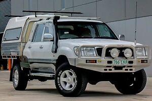 1998 Toyota Landcruiser FZJ105R GXL White 4 Speed Automatic Wagon Pakenham Cardinia Area Preview