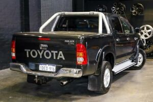 2009 Toyota Hilux KUN26R MY09 SR5 Black 4 Speed Automatic Utility