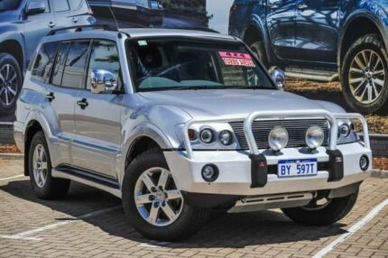 2006 Mitsubishi Pajero NP MY06 VR-X Silver 5 Speed Sports Automatic Wagon Morley Bayswater Area Preview