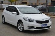 2014 Kia Cerato YD MY15 S Premium White 6 Speed Sports Automatic Hatchback Pearsall Wanneroo Area Preview