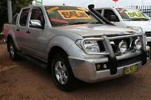 2007 Nissan Navara D40 ST-X (4x4) Silver 5 Speed Automatic Dual Cab Pick-up Minchinbury Blacktown Area Preview