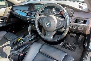 2006 BMW 540i E60 Steptronic Silver 6 Speed Sports Automatic Sedan Pakenham Cardinia Area Preview