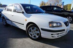 2004 Hyundai Elantra XD MY04 White 4 Speed Automatic Sedan Pearce Woden Valley Preview
