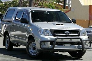 2008 Toyota Hilux KUN16R MY08 SR Silver 5 Speed Manual Utility Kedron Brisbane North East Preview