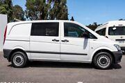 2014 Mercedes-Benz Vito 639 MY14 110CDI SWB White 6 Speed Manual Van Maddington Gosnells Area Preview