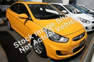 2014 Hyundai Accent RB2 Active Green 4 Speed Sports Automatic Sedan Morley Bayswater Area Preview