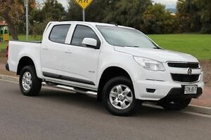 2012 Holden Colorado RG MY13 LT Crew Cab White 6 Speed Sports Automatic Utility Thebarton West Torrens Area Preview
