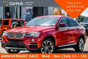 2016 BMW X4 xDrive28i|Drvr Assist.Pkg|Sunroof|Keyless_Go|Nav|H