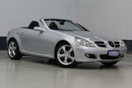 2004 Mercedes-Benz SLK200 202 Kompressor Silver 5 Speed Automatic Convertible Bentley Canning Area Preview