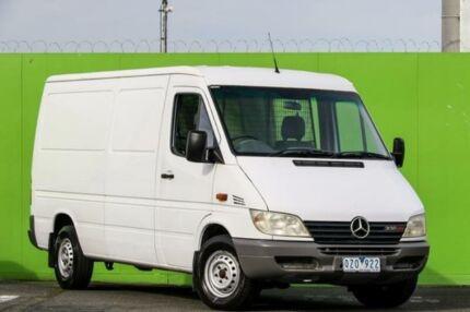 2001 Mercedes-Benz Sprinter 308CDI High Roof LWB White 5 Speed Manual Van