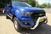 2015 Ford Ranger PX MkII XL 3.2 (4x4) Blue 6 Speed Manual Crew Cab Utility Greenway Tuggeranong Preview