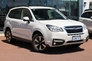 2018 Subaru Forester S4 MY18 2.5i-L CVT AWD Crystal White 6 Speed Constant Variable Wagon