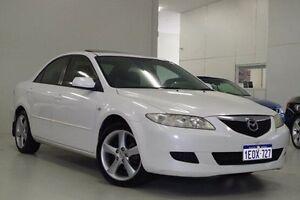 2003 Mazda 6 GG1031 Luxury White 4 Speed Sports Automatic Sedan Myaree Melville Area Preview