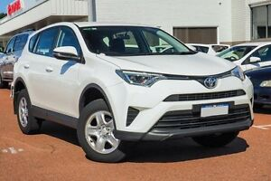 2016 Toyota RAV4 ZSA42R GX 2WD White 7 Speed Constant Variable Wagon Balcatta Stirling Area Preview