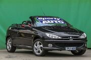 2005 Peugeot 206 T1 MY04 CC Black 4 Speed Sports Automatic Cabriolet Ringwood East Maroondah Area Preview