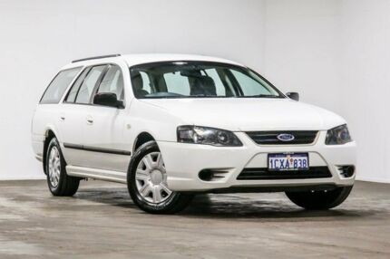 2008 Ford Falcon BF Mk II XT White 4 Speed Sports Automatic Wagon Welshpool Canning Area Preview