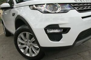 2016 Land Rover Discovery Sport LC MY16 Td4 SE White 9 Speed Automatic Wagon Petersham Marrickville Area Preview