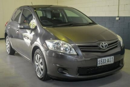 2010 Toyota Corolla ZRE152R MY10 Ascent Grey 6 Speed Manual Hatchback Hillcrest Port Adelaide Area Preview