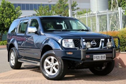 2008 Nissan Pathfinder R51 MY08 ST-L Blue 5 Speed Sports Automatic Wagon Wayville Unley Area Preview